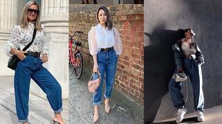 Yeni sezonda çok konuşulacak Slouchy Jean trendi