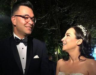 İpek Açar ile Alper Kömürcü evlendi