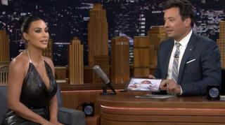 Kim Kardashiandan canlı yayında olay itiraf
