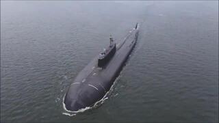 Nükleer denizaltı 350 kmden vurdu