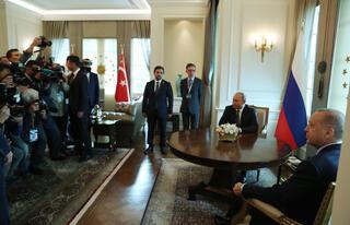 Fotoğraflarla Ankarada üçlü zirve