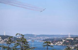 Bugün İstanbul… Nefes kestiler