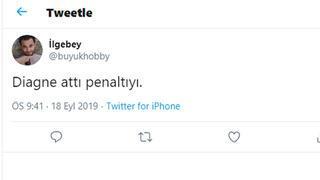 Diagne penaltı bekledi, taraftar çıldırdı