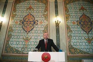 Cumhurbaşkanı Erdoğan: Fiziki ve manevi olarak yıkıma uğramış bir medeniyetin öne çıkma ihtimali yok