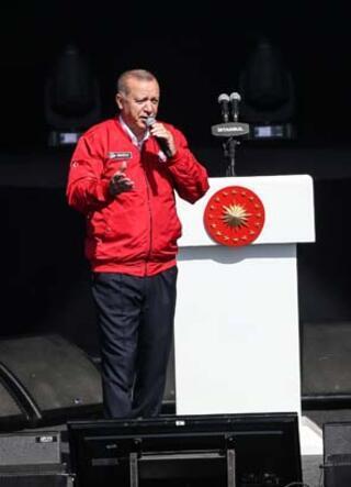 Cumhurbaşkanı Erdoğan TEKNOFESTte...
