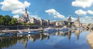 Avrupanın açık hava müzesi Dresden