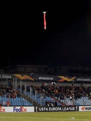 Skandal Drone ile Ermenistan bayrağı açtılar...