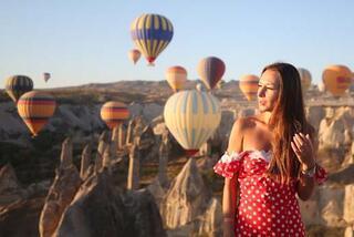 Kapadokyaya turist akını