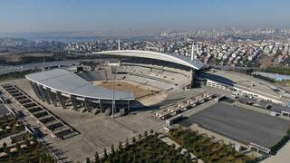 Olimpiyat Stadında hazırlıklar sürüyor