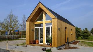 Mutluluk verici küçük ev akımı: Tiny house