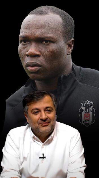 Demirkol'dan Aboubakar sözleri: Çıldırmış olması lazım