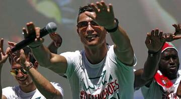EURO 2016'da en fazla ileti yazılan futbolcu Ronaldo