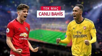 Manchester United - Arsenal! Old Trafford'daki zorlu mücadeleyi Misli.com'da canlı oyna...