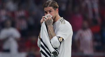 Real Madrid'de Ramos krizi! 4 ila 12 maç...