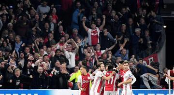 Ajax taraftarından çılgın hamle