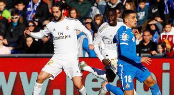 Getafe - Real Madrid: 0-3