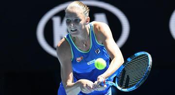 Avustralya Açık Tenis Turnuvası'nda seribaşı Pliskova elendi