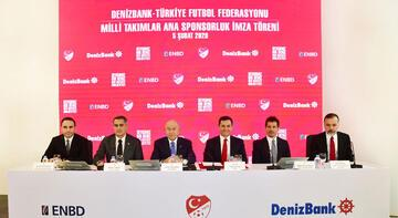 TFF'den erkek milli takımlarına ana sponsorluk anlaşması