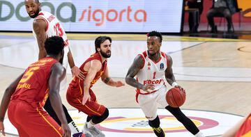 Galatasaray Doğa Sigorta-AS Monaco: 79-91