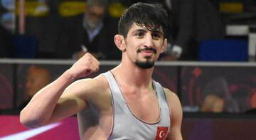 Milli güreşçi Kerem Kamal, Avrupa ikincisi oldu!