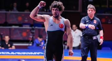Milli güreşçi Selçuk Can Avrupa üçüncüsü oldu