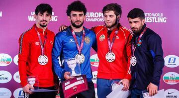 Avrupa Güreş Şampiyonası'nda milli takım üçüncü oldu