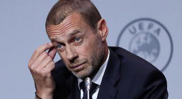 UEFA başkanı Ceferin'den EURO 2020 açıklaması! Koronavirüs...