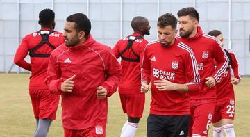 Sivasspor, Antalyaspor maçının hazırlıklarını sürdürdü