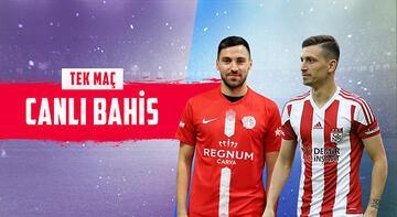Antalyaspor - Sivasspor canlı bahis heyecanı Misli.com'da
