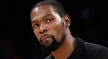 Durant, NBA sezonunun kalanında forma giymeyecek