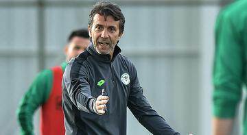 Konyaspor Teknik Direktörü Bülent Korkmaz: Oyuncularımız iyi çalışıyor