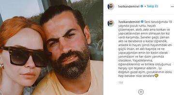 Volkan Demirel'den eşi Zeynep için duygusal paylaşım