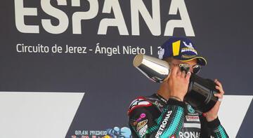 MotoGP'de ilk yarışta zafer Quartararo'nun