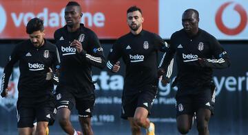 Beşiktaş'tan derbi öncesi taktik çalışması