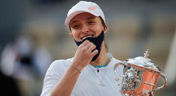 2020'nin en iyi kadın tenisçisi Sofia Kenin