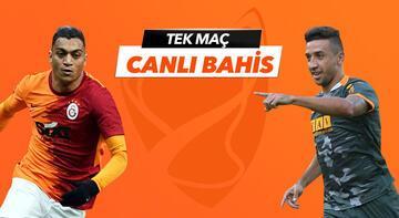 Galatasaray - Alanyaspor maçı Tek Maç ve Canlı Bahis seçenekleriyle Misli.com'da