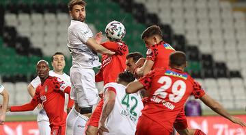 Konyaspor-Beşiktaş: 1-1 (Penaltılar: 2-3)