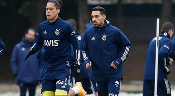 Son dakika | Fenerbahçe'de İrfan Can Kahveci takımla çalıştı