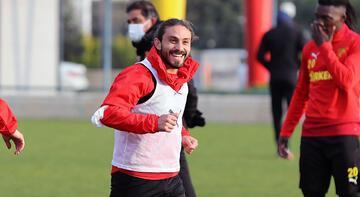 Göztepe, Kayserispor maçının hazırlıklarına devam etti