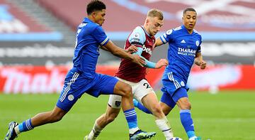Leicester City, West Ham United'a 3-2 yenildi