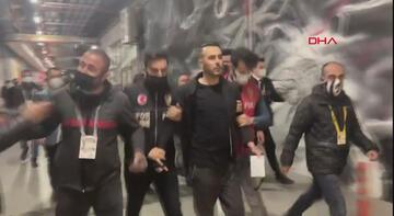 Son dakika - Beşiktaş'ta Rachid Ghezzal'ın menajeri maç sonunda gözaltına alındı!