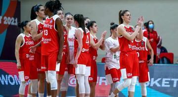 A Milli Kadın Basketbol Takımı, hazırlık maçında yarın Rusya ile karşılaşacak