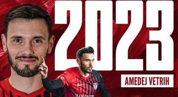 Süper Lig ekibi Gaziantep, Vetrih ile sözleşme yeniledi
