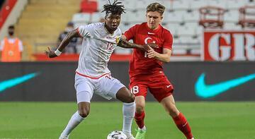 Türkiye - Gine maçından görüntüler