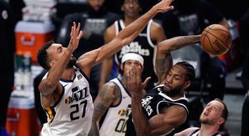 NBA'de Clippers, Jazz'ı yenerek farkı bire indirdi