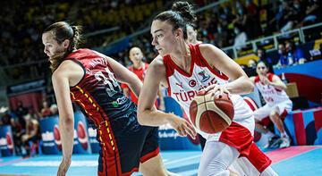 Son dakika - A Milli Kadın Basketbol Takımı şampiyonaya veda etti!