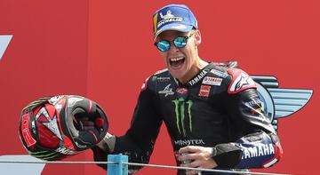 MotoGP Hollanda Grand Prix'sinde zafer Quartararo'nun