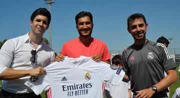 Nuri Şahin, Antalya'da Real Madrid Futbol Okulu'nun sezon açılışına katıldı