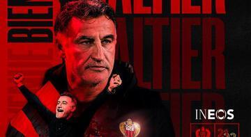 Son dakika - Nice, teknik direktörlüğe Christophe Galtier'yi getirdi