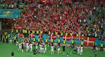 Son dakika - EURO 2020'de Danimarka taraftarlarına şok!